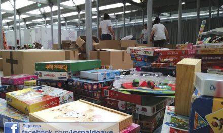 Cinco toneladas de bens para ajudar Timor (c/ vídeo)
