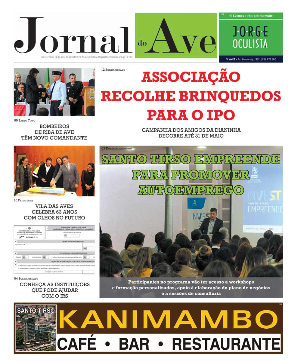 Jornal do Ave nº 129
