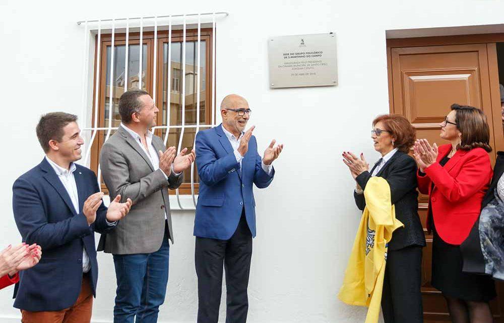 Grupo Folclórico de S. Martinho do Campo tem nova sede