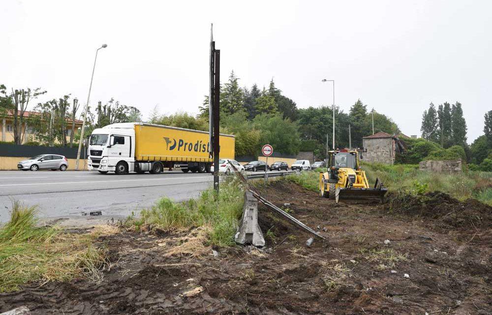 Arrancaram as obras na Estrada Nacional 14