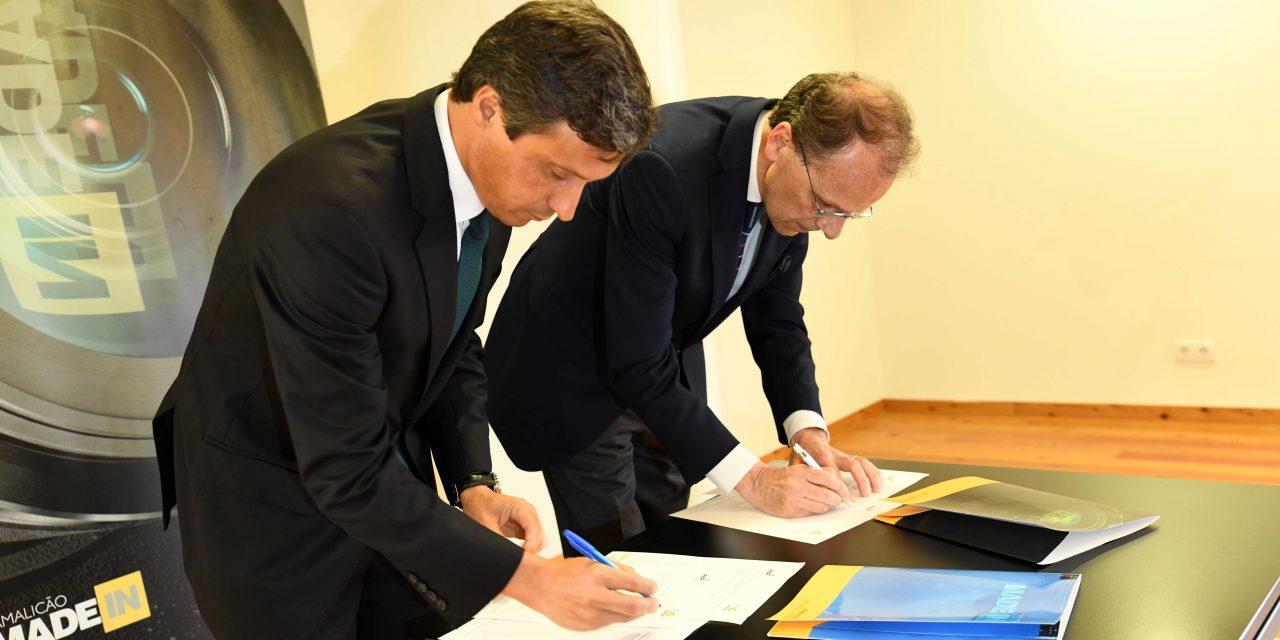 Câmara assina protocolo com a AEP para facilitar internacionalização das empresas