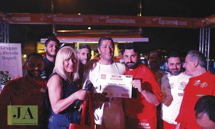 Agostinho Pereira leva pizza Nonna Rosa a Nápoles