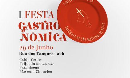 Festa Gastronómica em Brufe a 29 de junho
