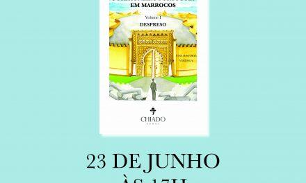 """""""O Português em Marrocos""""  apresentado sábado na Casa de Chá"""