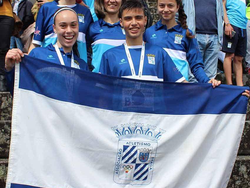 Atletas da EARO vice-campeões nacionais