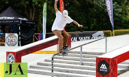Parque com prova nacional de Skate