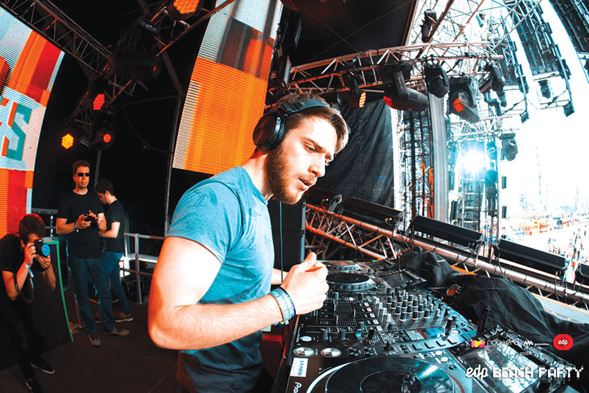DJ ALVES na EDP Beach Party
