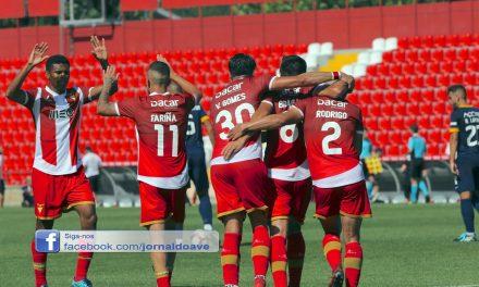 Desportivo das Aves na fase de grupos da Taça da Liga após 20 penáltis