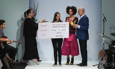Rita Rodrigues de Sá brilhou na final do Concurso Europeu de Moda Rebelpin