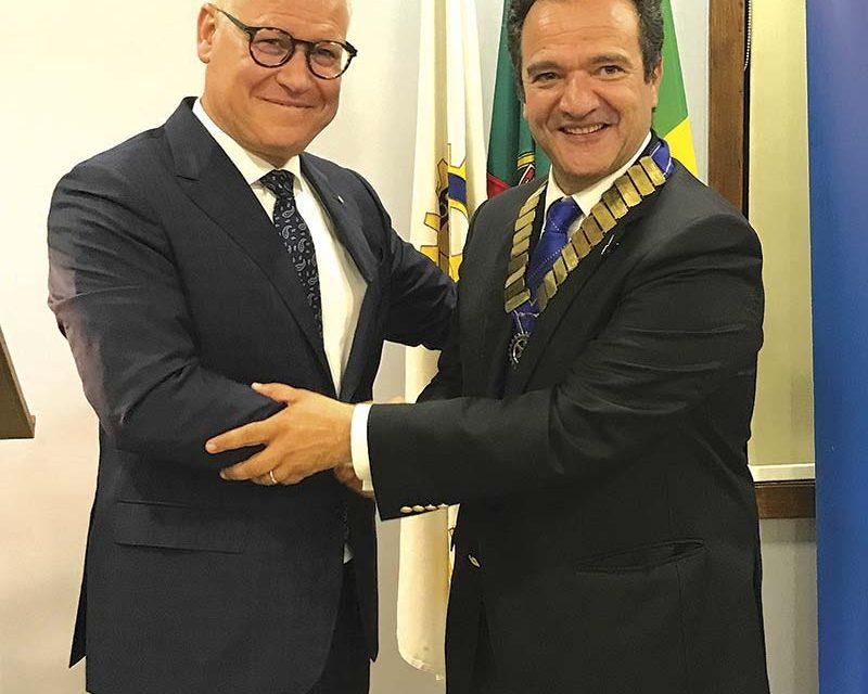 Miguel Varela preside ao Rotary Club