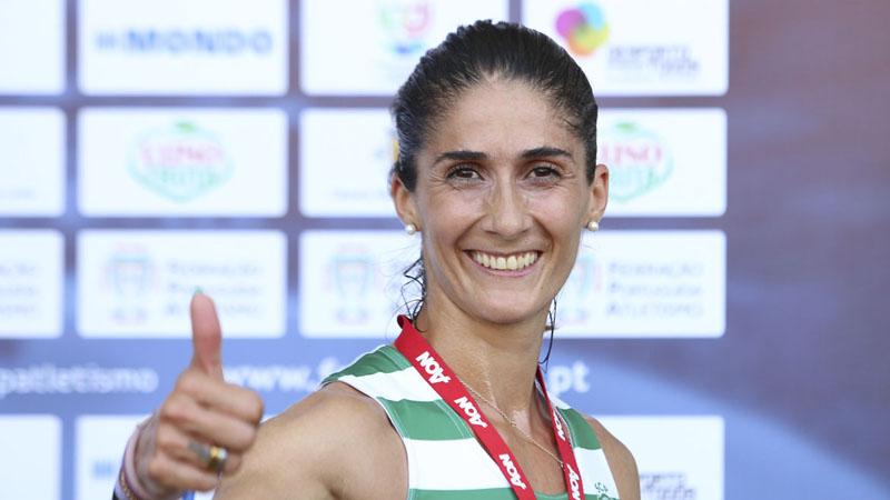 Sara Moreira campeã nacional nos 5000 metros