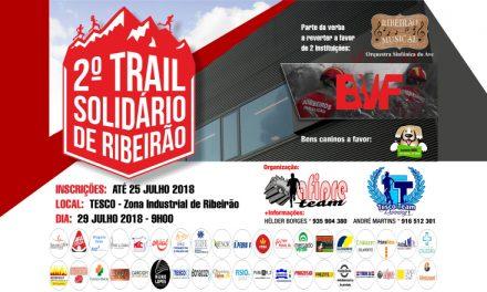 2.º Trail Solidário de Ribeirão vai ajudar 3 associações