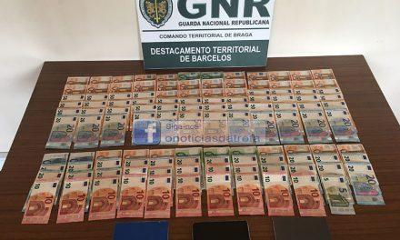 Burlões detidos pela GNR