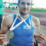 Atletismo Adaptado: Filipe Carneiro vice-campeão nacional