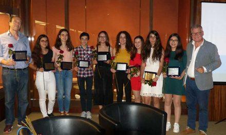 Rotary premiou alunos do 9.º ano