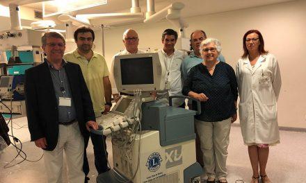 Lions realiza oferta de ecógrafo ao Serviço de Urgência do Centro Hospitalar do Médio Ave