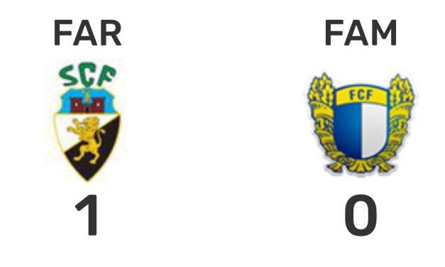 Famalicão perdeu em Faro