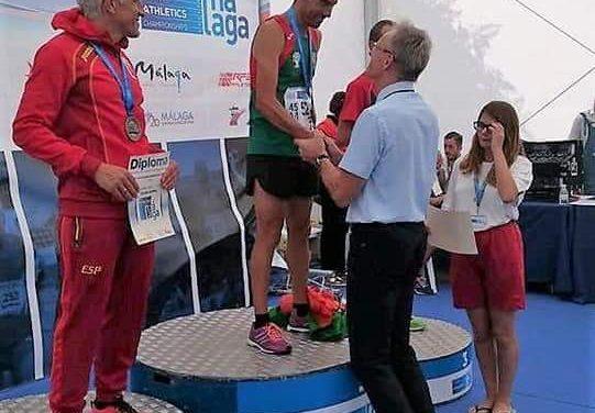 Davide Figueiredo termina Campeonato do Mundo com ouro na meia maratona