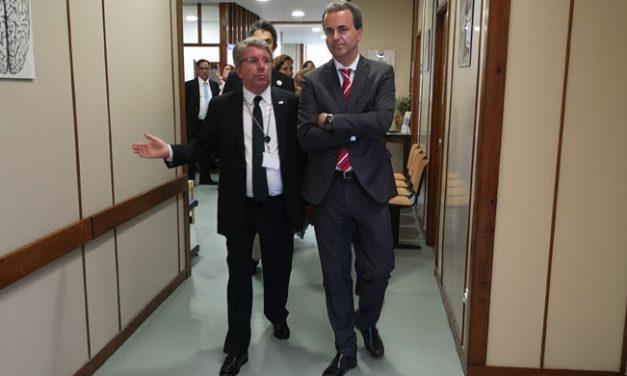 Secretário de Estado Adjunto e da Saúde visitou o Centro Hospitalar do Médio Ave