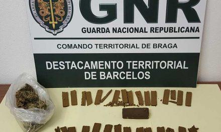 GNR apanha em flagrante traficante de droga em Ribeirão