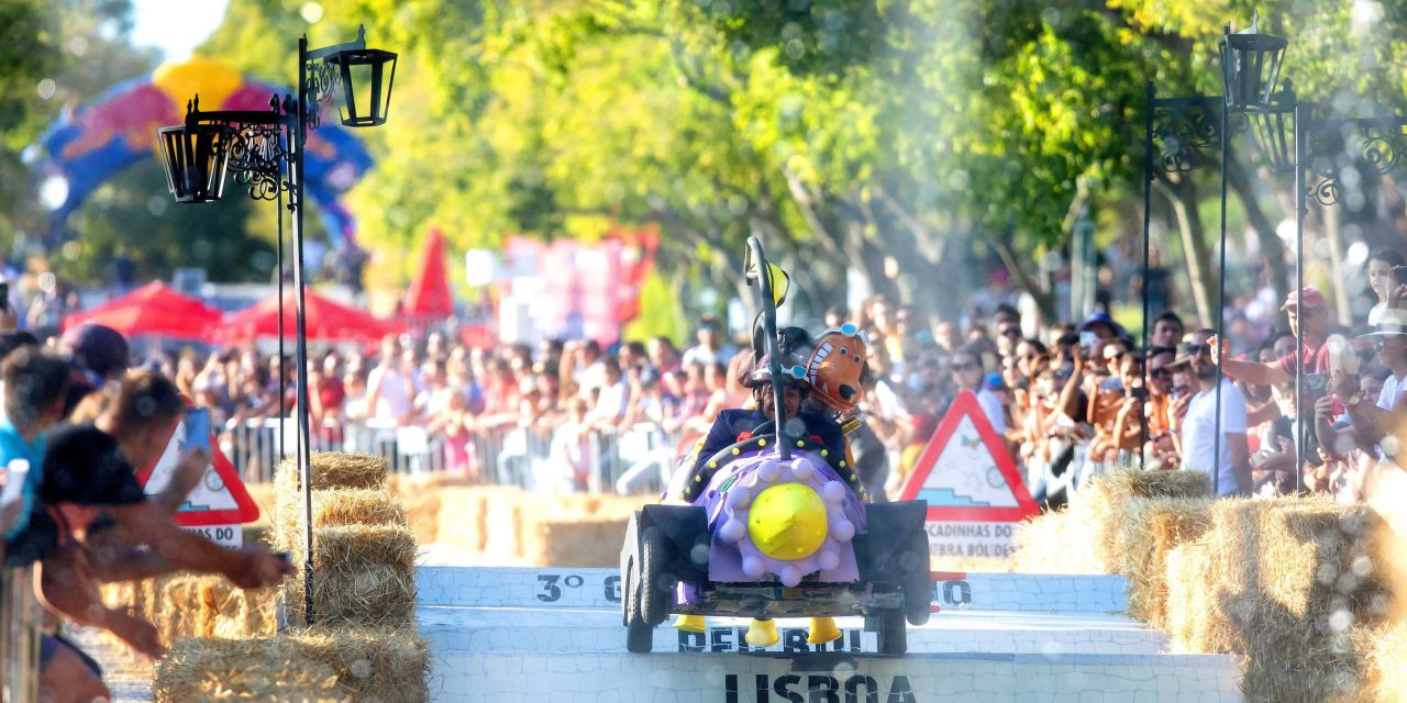 Video – Os famalicenses The Mean Machine venceram o 3° Grande Prémio Red Bull – A Corrida Mais Louca do Mundo.