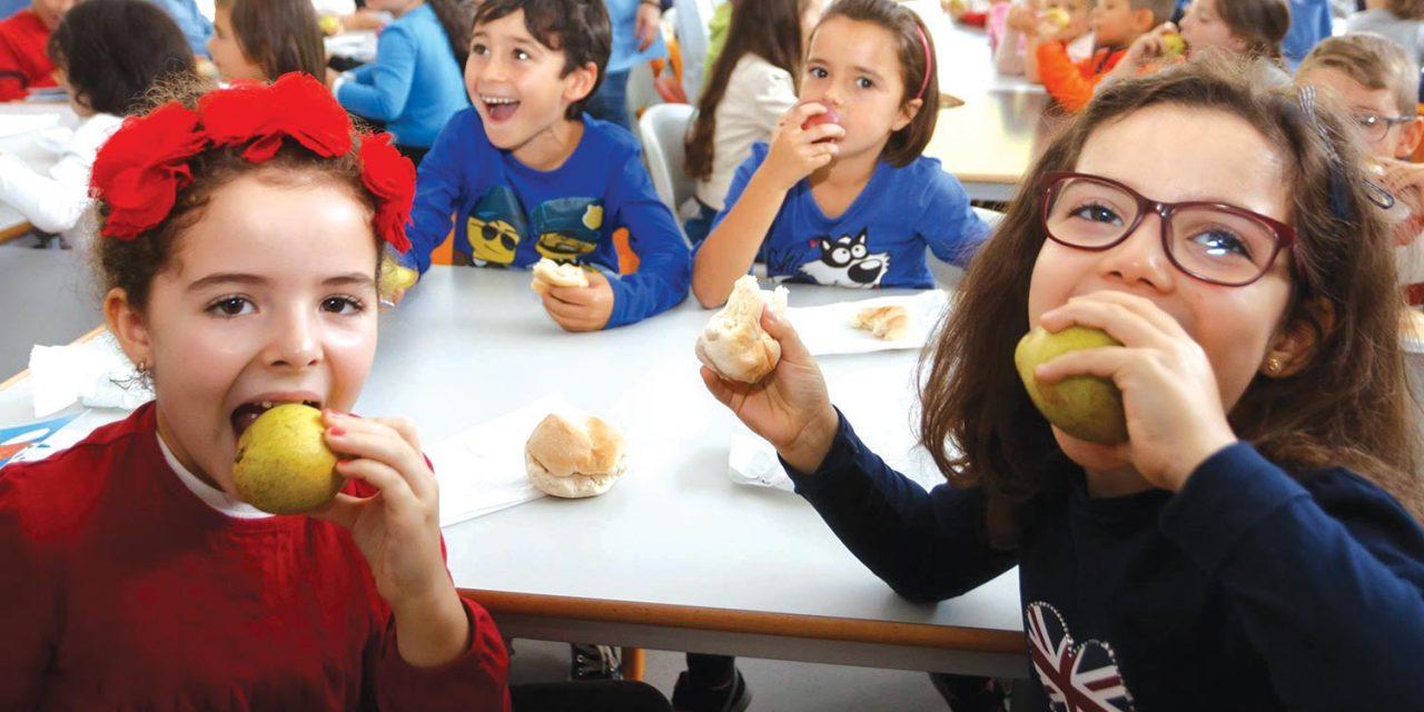 """""""Crescer para Cima"""" incentiva crianças a preferir alimentos saudáveis"""