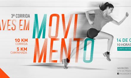 Video – 3ª corrida Aves em Movimento