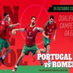 Portugal joga qualificação para Europeu de andebol em Santo Tirso