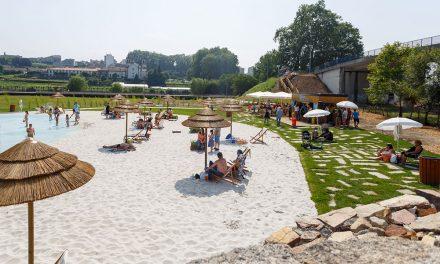 Praia urbana reabre este sábado