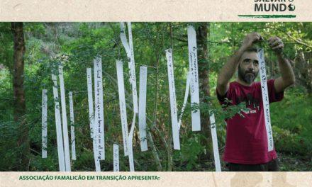 """Sessão de cinema do """"Ambientar-se"""" sobre a floresta"""