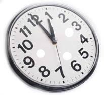 Às duas da manhã atrase o relógio