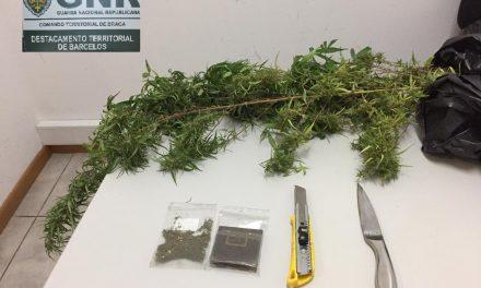 GNR detém homem e mulher por tráfico de droga