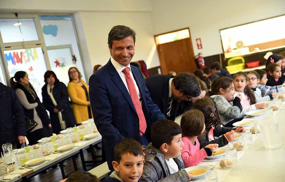 Escolas são amigas da alimentação saudável em Famalicão