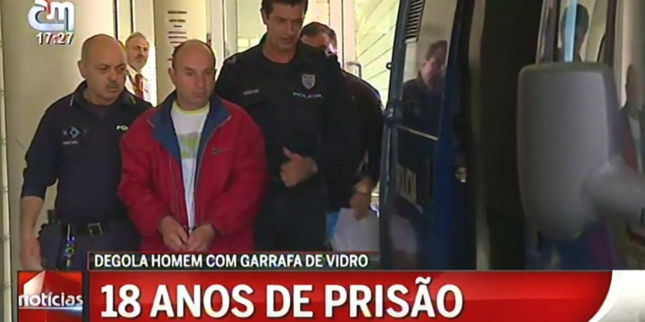 Condenado a 18 anos de prisão por homicídio após discussão num café de Santo Tirso