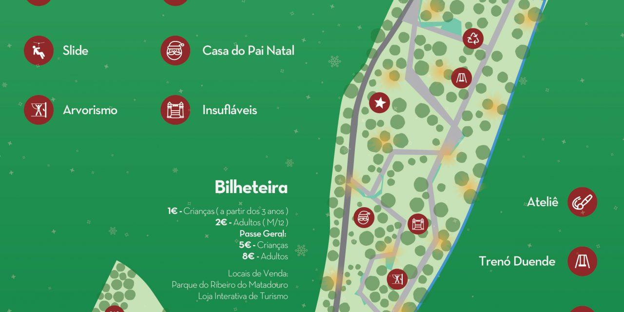 Natal no Parque arranca este sábado em Santo Tirso