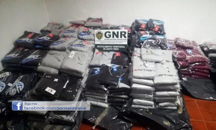 De Rebordões saía vestuário contrafeito para todo o país