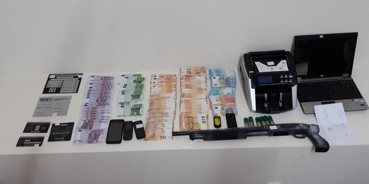 Detidos indivíduos que furtaram máquinas em Famalicão