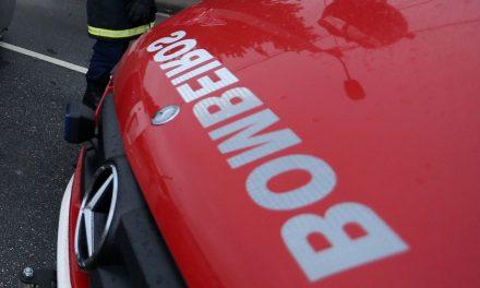 Ambulância dos Bombeiros de Santo Tirso despistou-se na Autoestrada