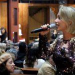 Luciana Abreu apresenta projeto de gospel em Santo Tirso