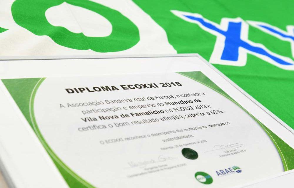 Vila Nova de Famalicão volta a ser reconhecido como um eco-município