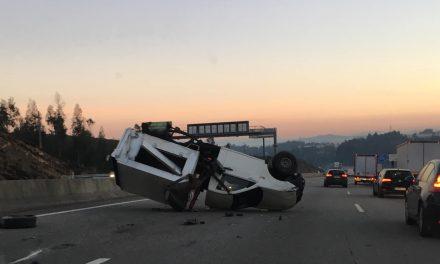 Acidente na A3 antes de Santo Tirso/Trofa congestiona trânsito
