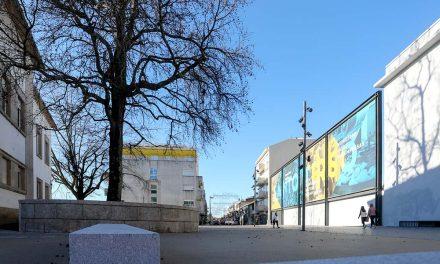 Nova praça junto ao Tribunal de Santo Tirso dá primazia aos peões
