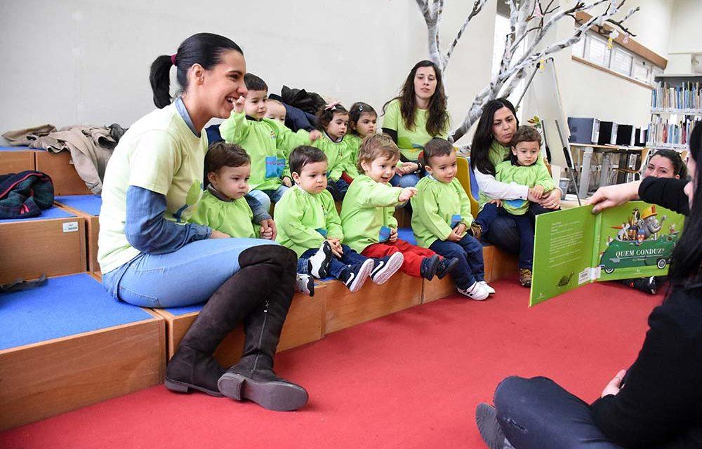 Biblioteca Camilo Castelo Branco cativa bebés até aos 2 anos de idade