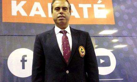 Avense Joaquim Fernandes arbitra na Premier League do karaté