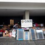GNR apreende 1,4 milhões de euros em artigos contrafeitos