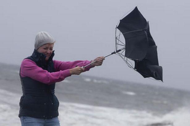 Ventos podem chegar aos 110 km/h esta sexta-feira
