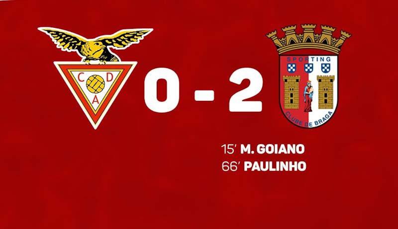Braga vence nas Aves e está no segundo lugar à espera do dérbi