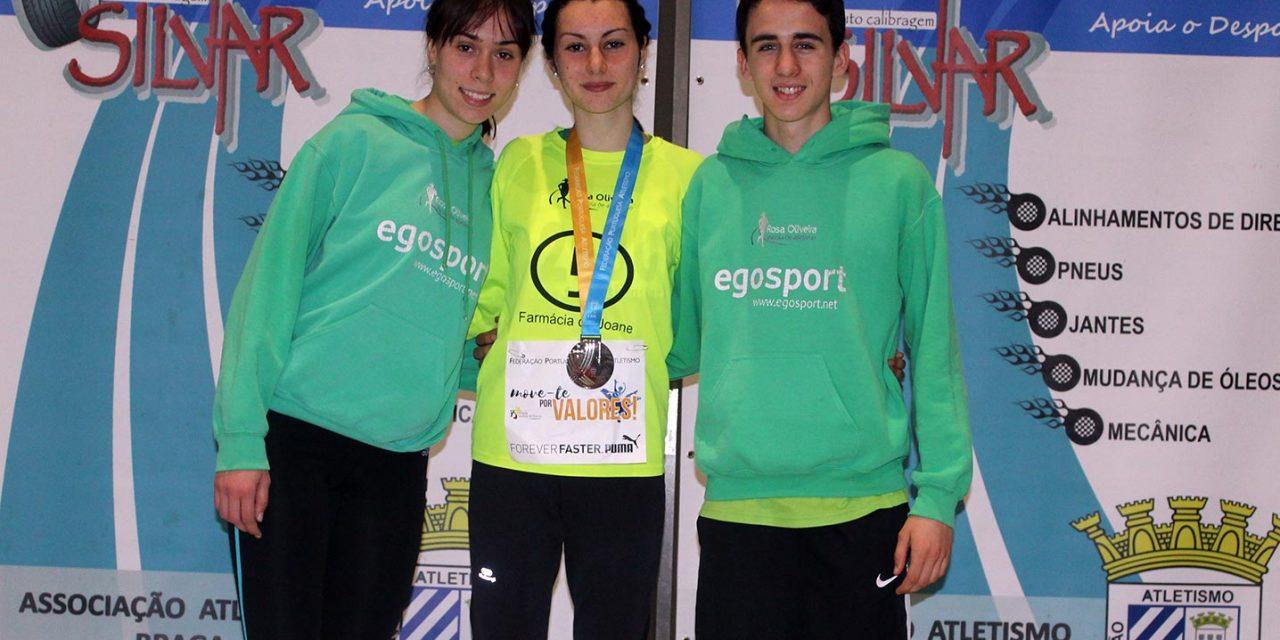 EARO com vice-campeã nacional 800m em pista coberta