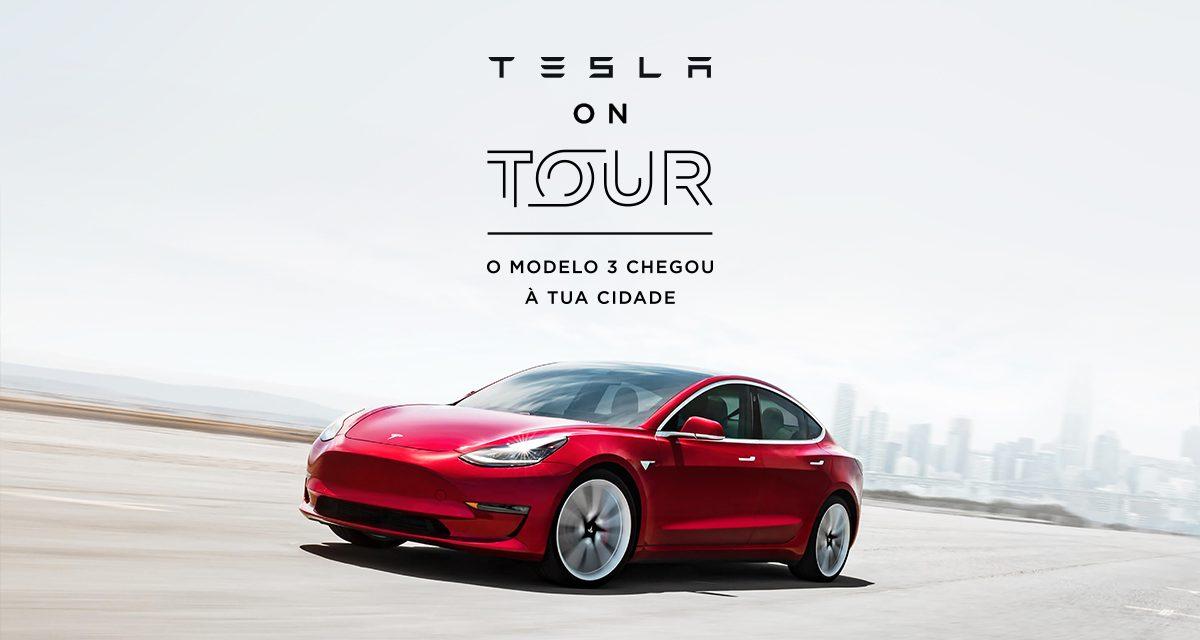 """Quer testar um Tesla? O Model 3 estará disponível para """"test drive"""" em Santo Tirso"""
