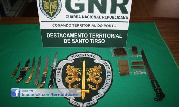 NIC da GNR de Santo Tirso deteve homem por posse e tráfico de droga